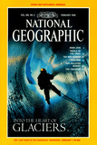 Cover of the February, 1996 National Geographic Magazine Photographic Print by Carsten Peter