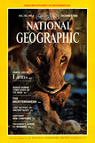 Cover of the December 1982 National Geographic Magazine Photographic Print by Des & Jen Bartlett