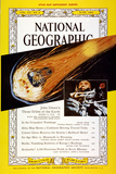 Cover of the June, 1962 National Geographic Magazine Photographic Print by Robert C. Magis