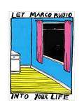 Marco Rubio - Cartoon Giclee Print by Edward Steed