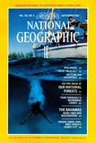 Cover of the September, 1982 National Geographic Magazine Photographic Print by Bruce Dale
