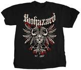 Biohazard- Band Crest (Front/Back) T-Shirt