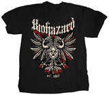 Biohazard- Band Crest (Front/Back) T-Shirt