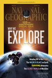 Cover of the January, 2013 National Geographic Magazine Fotografisk tryk af Dana Berry