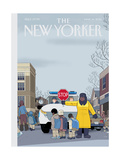 The New Yorker Cover - March 14, 2016 Regular Giclee Print by Chris Ware