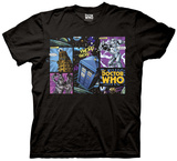 Doctor Who- Comic Villains T-shirts