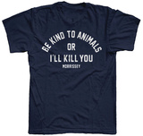 Morrissey- Be Kind To Animals Tshirts