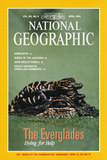 Cover of the April, 1994 Issue of National Geographic Magazine Fotografisk tryk af Chris Johns