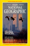 Cover of the February, 1992 National Geographic Magazine Fotografisk tryk af Raymond Gehman