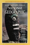 Cover of the December, 1980 National Geographic Magazine Fotografisk tryk af David Hiser
