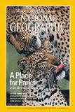 Cover of the July, 1976 Issue of National Geographic Magazine Photographic Print by Chris Johns