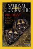 Cover of the January, 2013 National Geographic Magazine Fotografisk tryk af Tim Laman