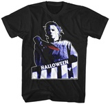 HALLOWEEN- Bloodied Knife Shirts