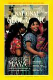 Cover of the October, 1989 National Geographic Magazine Fotografisk tryk af Kenneth Garrett