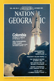 Cover of the October, 1981 National Geographic Magazine Photographic Print by Jon T. Schneeberger