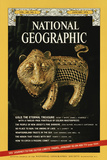 Cover of the January, 1974 National Geographic Magazine Fotografisk tryk af James L. Stanfield