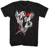 VIKINGS- FLOKI Red Rage T-Shirts