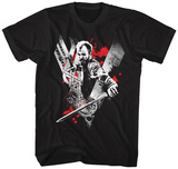 VIKINGS- FLOKI Red Rage Shirts