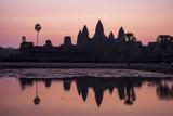 Sunrise at Angkor Wat, Siem Reap, Cambodia Photographic Print by Ira Block