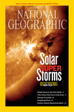 Cover of the June, 2012 National Geographic Magazine Fotografisk tryk af NASA