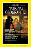 Cover of the November 1983 National Geographic Magazine Photographic Print by O. Louis Mazzatenta