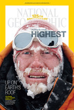 Cover of the December, 2013 National Geographic Magazine Photographic Print by Cory Richards