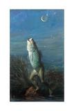 Manfish: Half Man, Half Fish Giclee Print by Stanley Meltzoff
