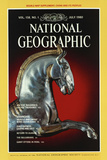 Cover of the July, 1980 National Geographic Magazine Fotografisk tryk af James L. Stanfield