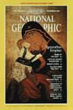 Cover of the December, 1983 National Geographic Magazine Fotografisk tryk af James L. Stanfield
