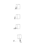 A man struggles to move a box. He draws a line towards the bottom making i... - New Yorker Cartoon Premium Giclee Print by David Sipress