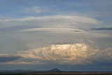 A Thunderstorm Builds over the High Plains East of Great Falls, Montana Photographic Print by Gordon Wiltsie