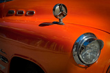 Details of a Classic American Car in Havana, Cuba Photographic Print by Greg Davis