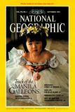 Cover of the September, 1990 National Geographic Magazine Photographic Print by Sisse Brimberg