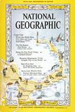 Cover of the August, 1962 National Geographic Magazine Photographic Print