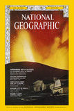 Cover of the July, 1973 National Geographic Magazine Photographic Print by Emory Kristof