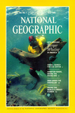 Cover of the July, 1985 National Geographic Magazine Photographic Print by Bill Curtsinger