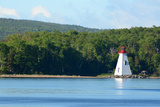 Scenic View of the Kidston Island Lighthouse Photographic Print by Darlyne A. Murawski