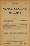 Cover of the April, 1900 National Geographic Magazine Photographic Print