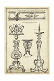 Antique French Ornament II Posters by J.F. Blondel