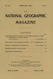 Cover of the February, 1900 National Geographic Magazine Photographic Print