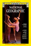 Cover of the January, 1978 National Geographic Magazine Photographic Print by Gordon Gahan