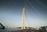 The Suspension Bridge Replacement of the Bay Bridge Eastern Span of the San Francisco Bay Bridge Photographic Print by Jeff Mauritzen