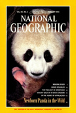Cover of the February, 1993 National Geographic Magazine Fotografisk tryk af Lu Zhi