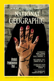 Cover of the October, 1985 National Geographic Magazine Photographic Print by Lynn Abercrombie