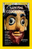 Cover of the August, 1974 National Geographic Magazine Fotografisk tryk af Winfield Parks