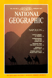 Cover of the February 1982 National Geographic Magazine Photographic Print by Gordon Gahan