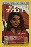 Cover of the October, 1973 National Geographic Magazine Photographic Print by George F. Mobley