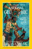 Cover of the February, 1995 National Geographic Magazine Photographic Print by Doug & Enrico Stern & Ferorelli
