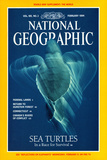 Cover of the February 1994 National Geographic Magazine Photographic Print by Bill Curtsinger