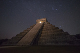 The Great Pyramid, El Castillo, in Chichen Itza Photographic Print by Cristina Mittermeier